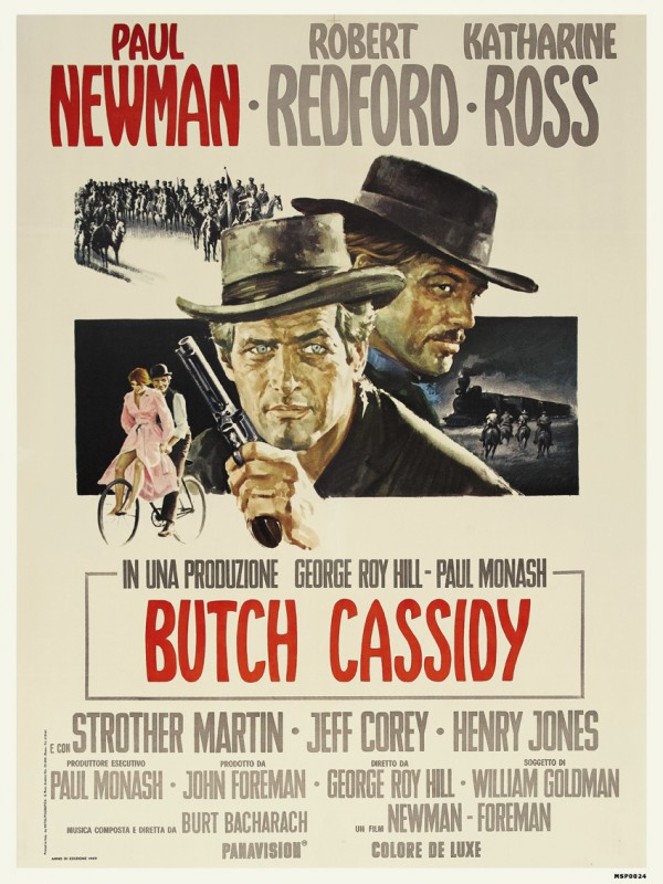 Butch Cassidy And The Sundance Kid Film Print