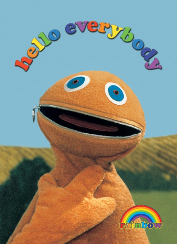 Rainbow Zippy Poster