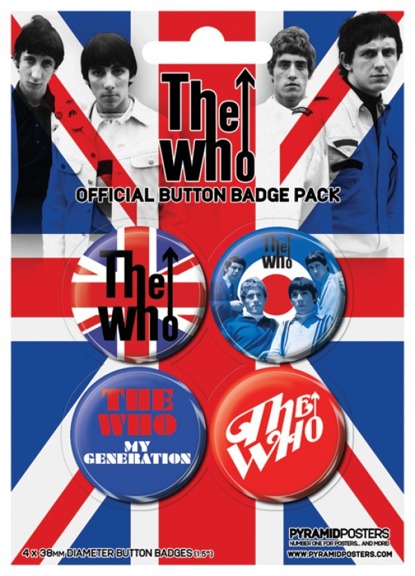 The Who Badge Pack