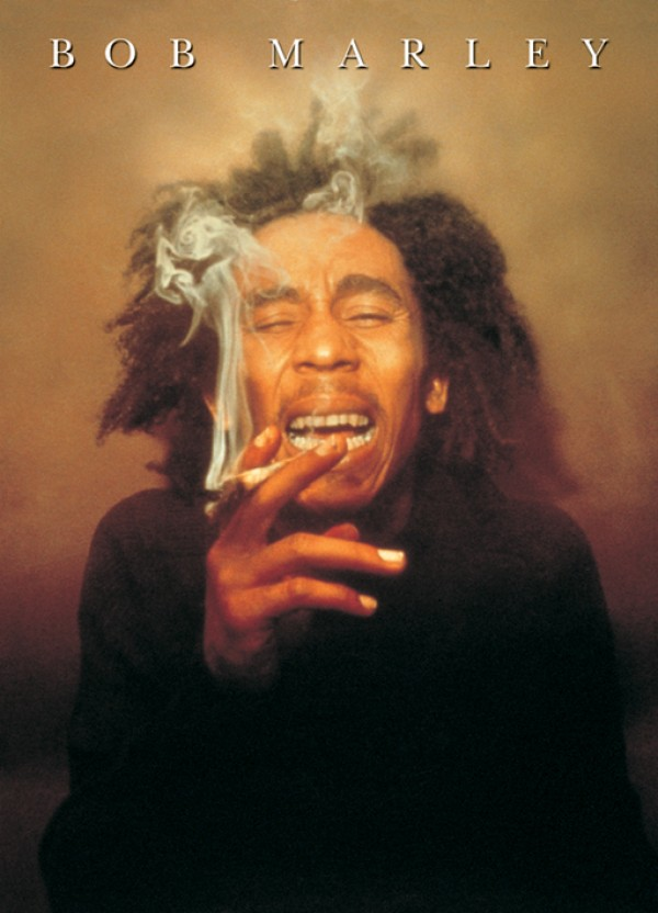 Bob Marley Spliff (Colour) Giant Poster