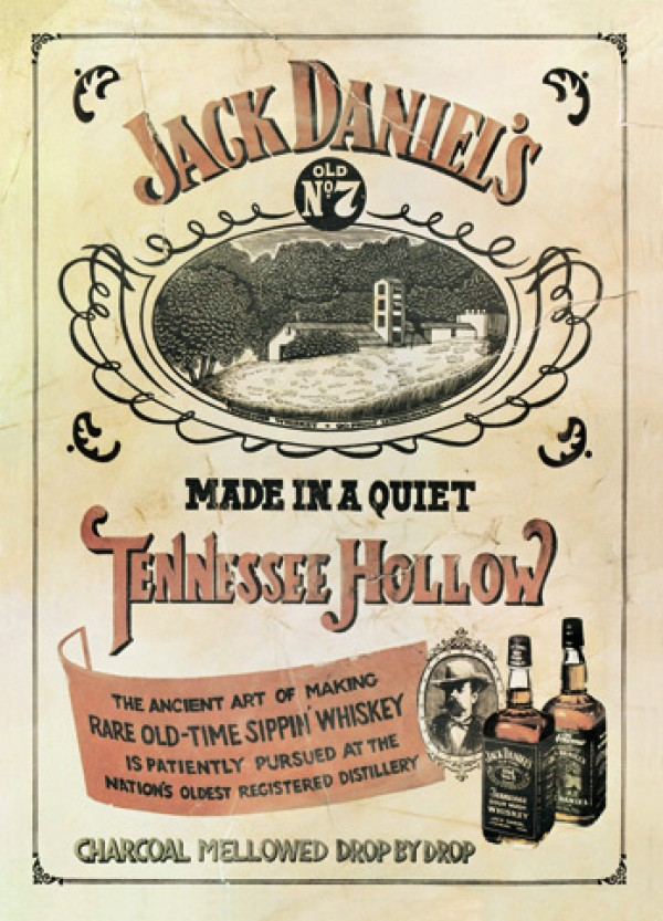 Jack Daniel's Tennessee Hollow Poster