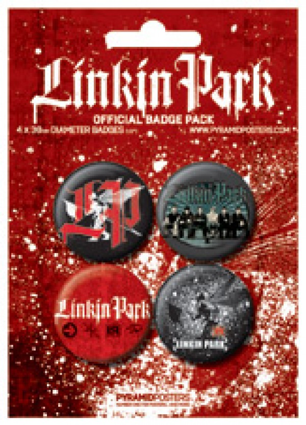 Linkin Park (Red) Badge Pack