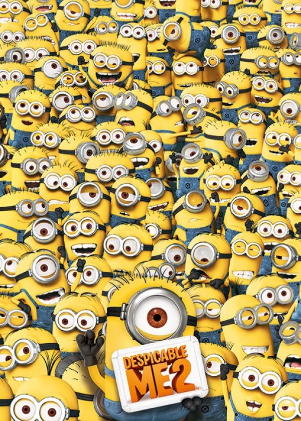 Despicable Me 2 (Many Minions) Giant Poster