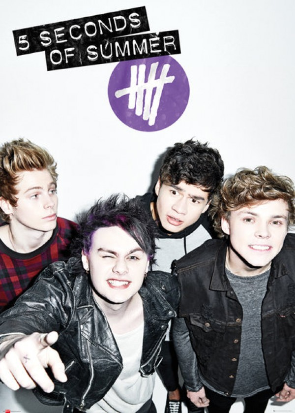 5 Seconds Of Summer (Don't Stop) Giant Poster