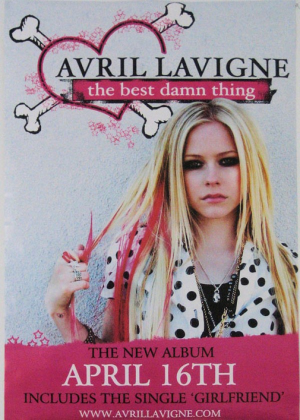 Avril Lavigne Best Damn Thing Poster