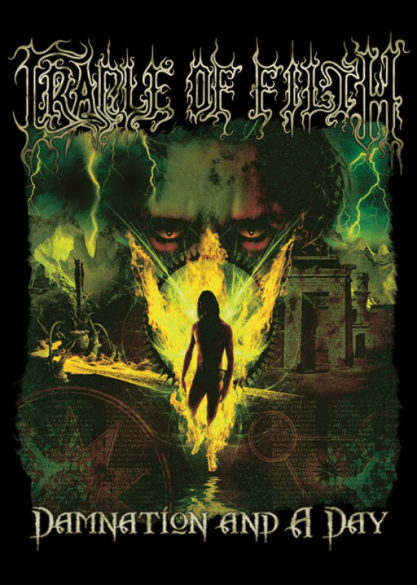 Cradle Of Filth Damnation & A Day Poster