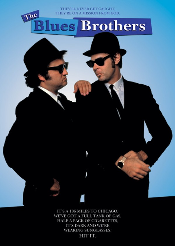 Blues Brothers Hit It Poster