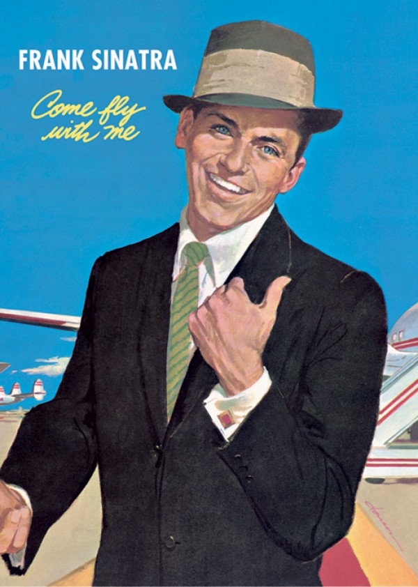 Frank Sinatra Posters Frank Sinatra Come Fly With Me