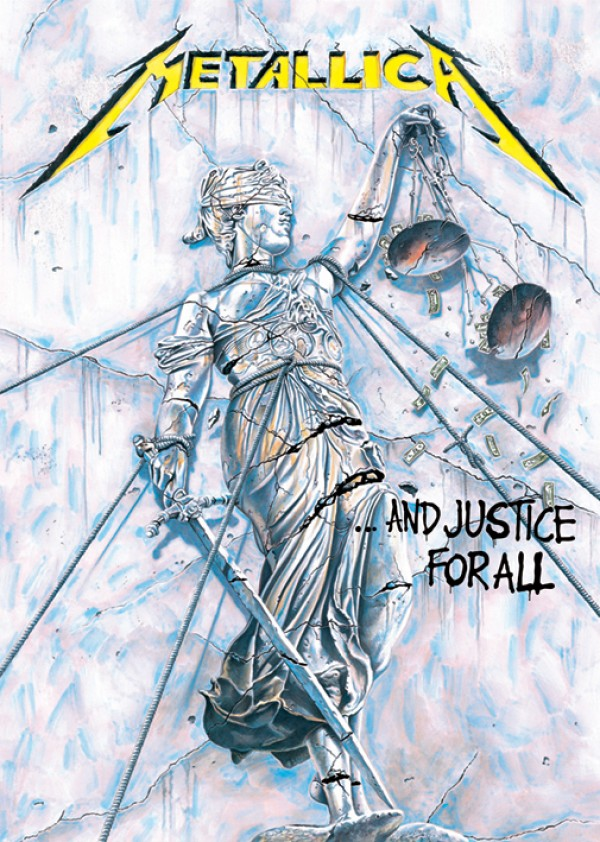 Metallica And Justice For All Poster