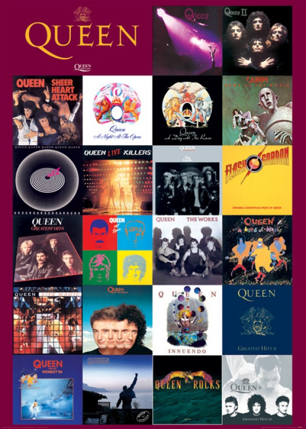 Queen Covers Poster