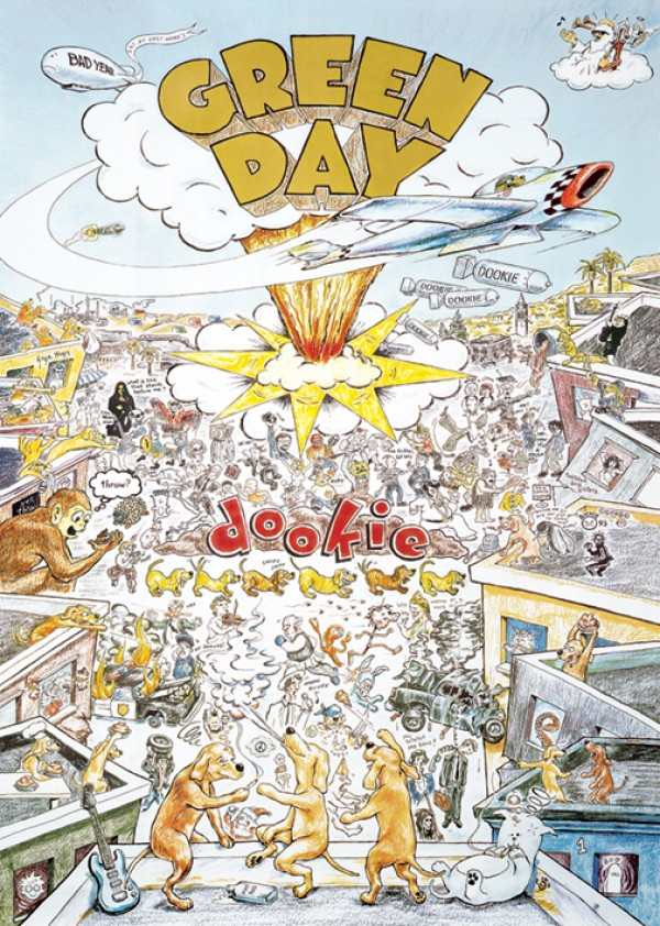 Green Day Dookie Poster