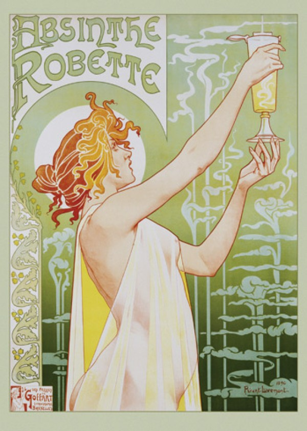 Absinthe Robette Giant Poster