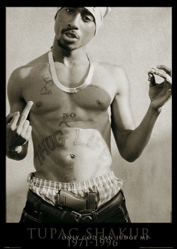 2Pac Only God Poster