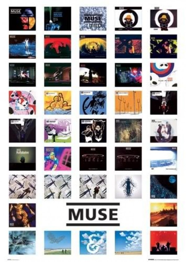 Muse Cover Art poster featuring Origin Of Symmetry, Absoltiom and many more
