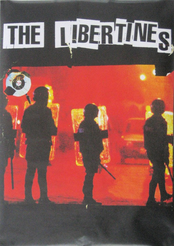 Libertines Up The Bracket Riot Poster