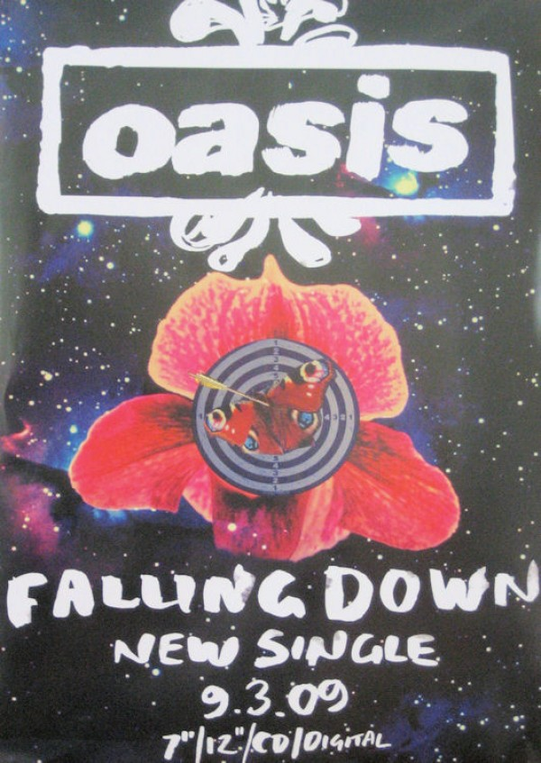 Oasis Falling Down Promo Poster