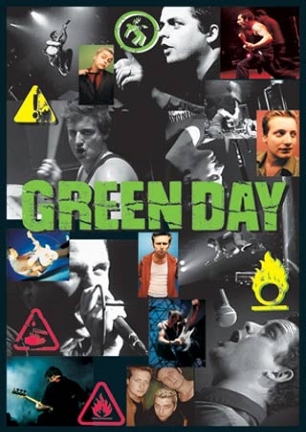 Green Day Collage Poster