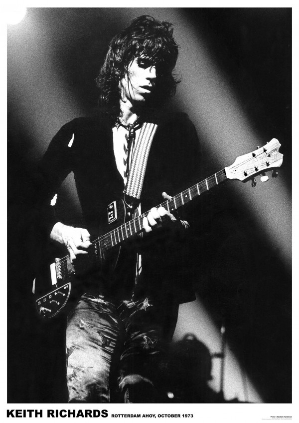 Rolling Stones (Keith Richards) Poster