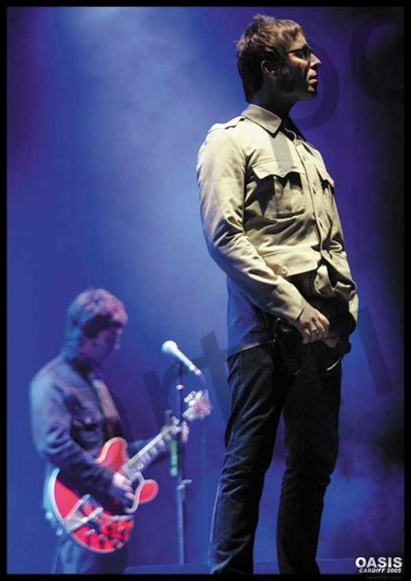 Oasis (Cardiff 2005) Poster