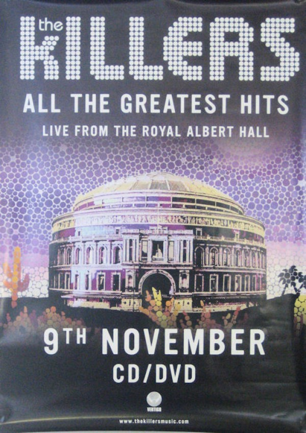 Killers Live Greatest Hits Poster