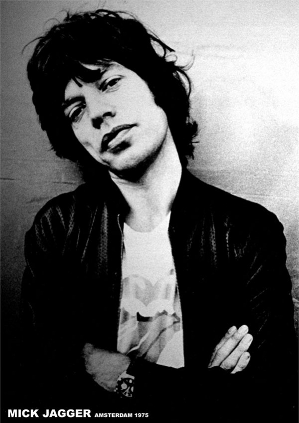 Rolling Stones Posters Rolling Stones Mick Jagger Poster