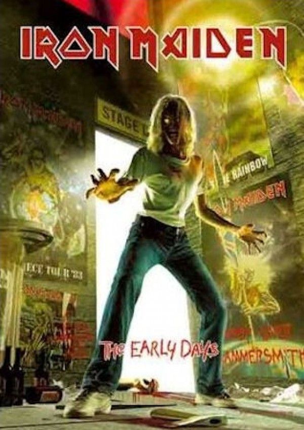 Iron Maiden Early Days Poster