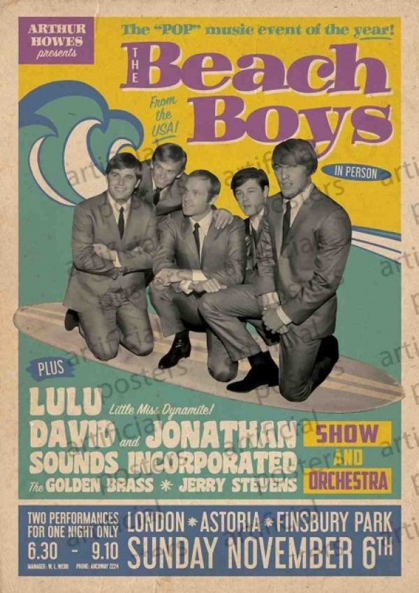 Beach Boys (Live In London) Poster