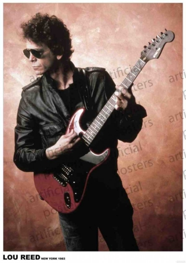Lou Reed (New York) Poster