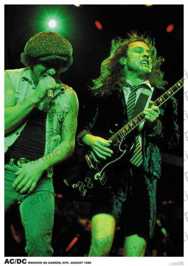 AC/DC (Madison Sq Garden) Poster