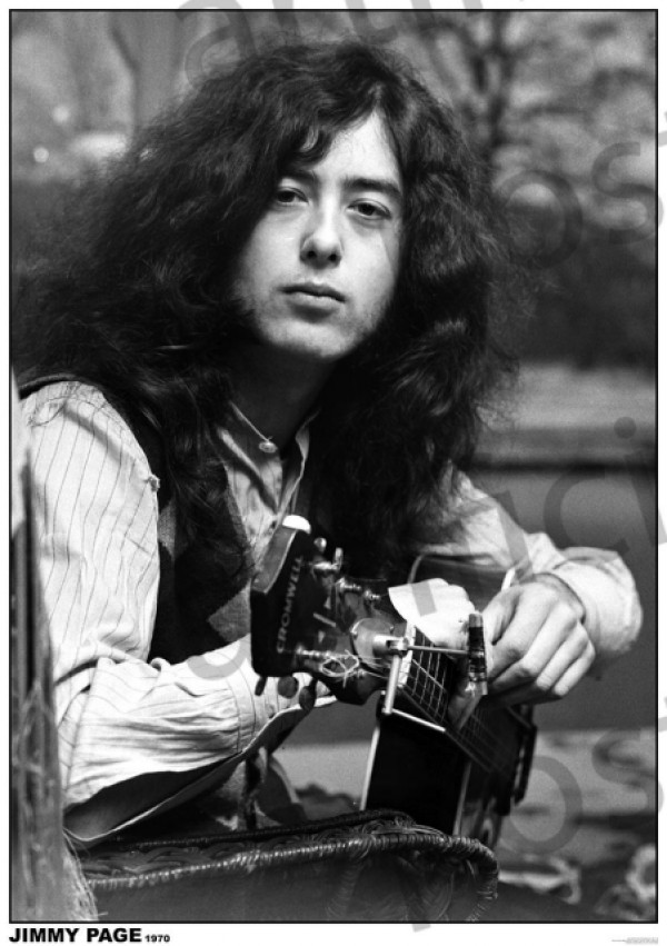 Led Zeppelin (Jimmy Page 1970) Poster