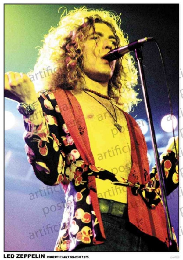 Led Zeppelin (Robert Plant 1975) Poster