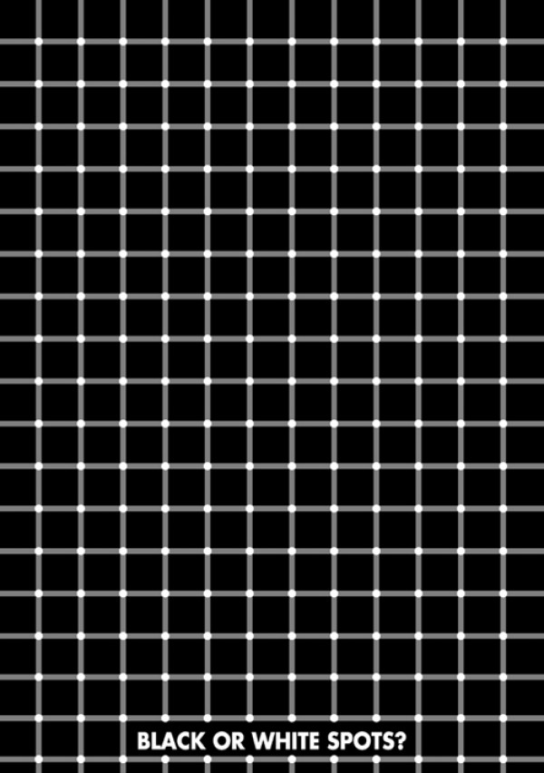 Spots Illusion Poster