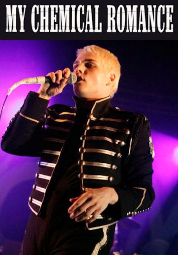 My Chemical Romance Gerard Live Poster