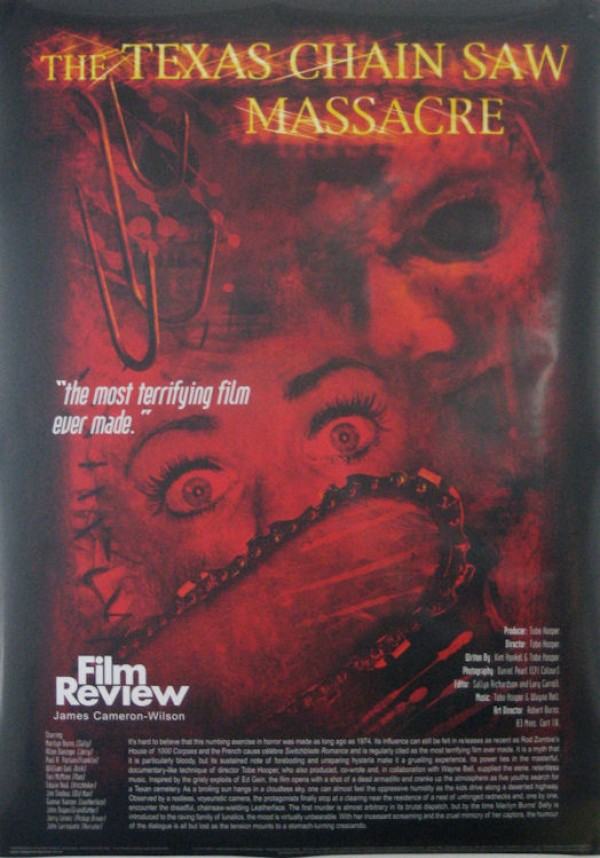 Texas Chainsaw Massacre Film Review Poster