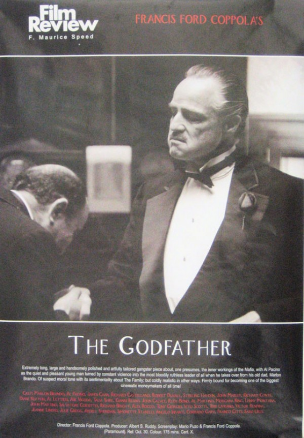 Godfather Film Review Poster
