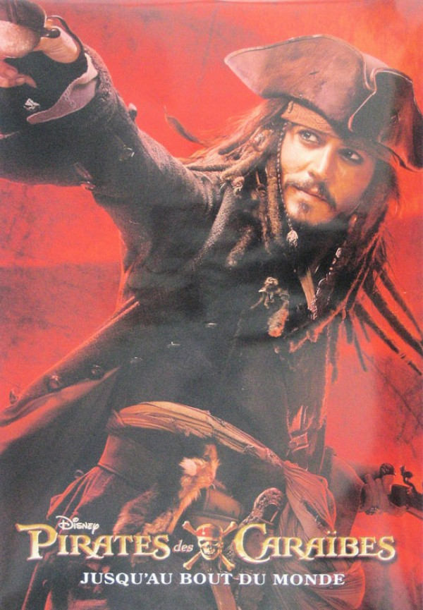 Pirates Of The Caribbean Worlds End Poster
