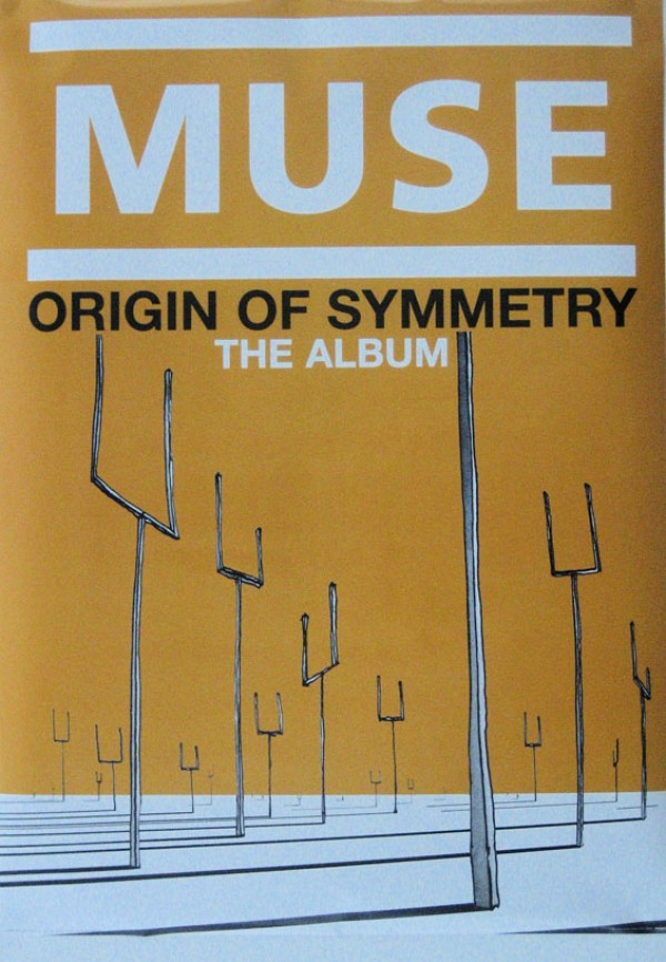 Muse Origin Of Symmetry Poster