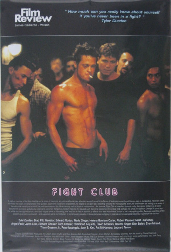 fight club poster � fight club film review poster ac072