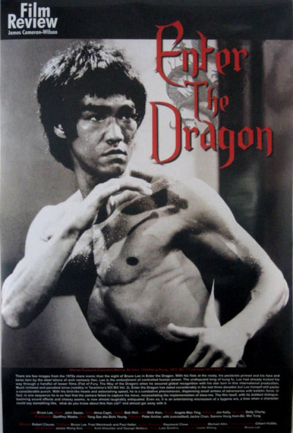 Bruce Lee Enter The Dragon Film Review Poster