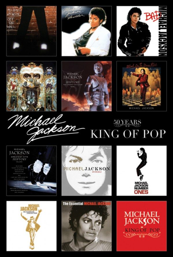 Michael Jackson Covers Poster