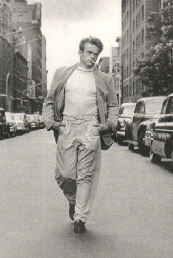 James Dean Manhattan Poster