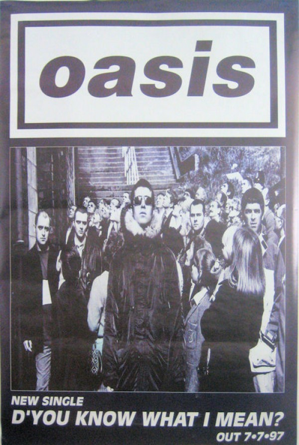 Oasis D'You Know Giant Poster