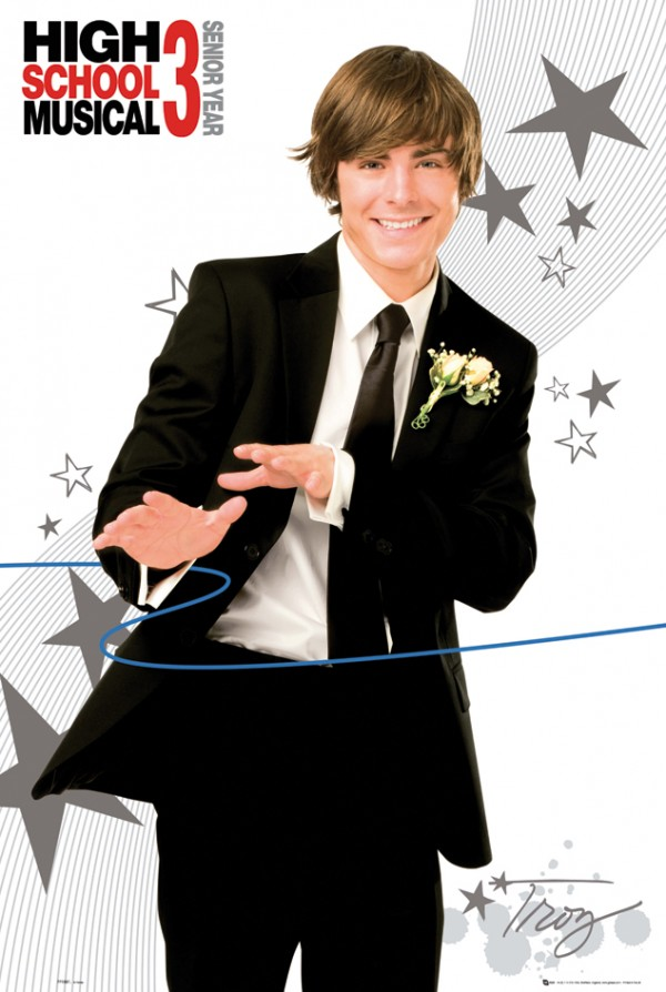 Zac Efron High School Musical Suit Poster
