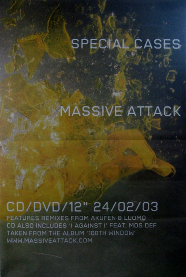 Massive Attack Special Cases Giant promo Poster