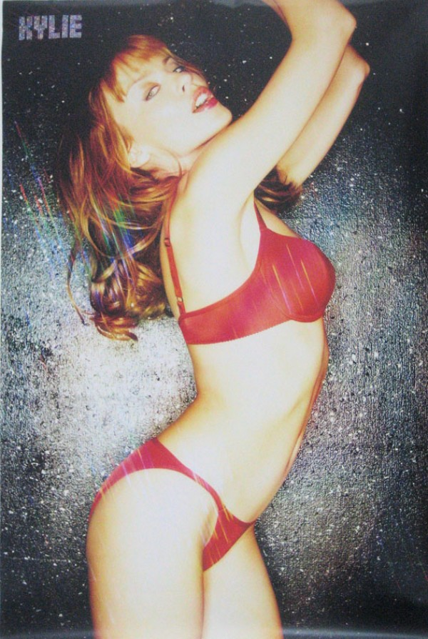 Kylie Minogue (Red) Poster
