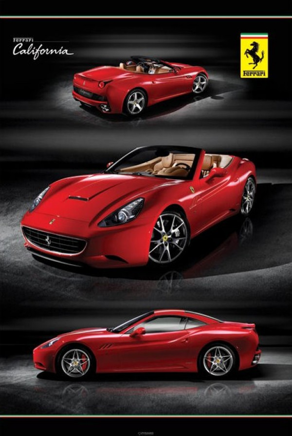 Ferrari Posters Buy This Ferrari California Poster
