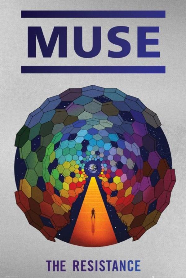Muse The Resistance Poster
