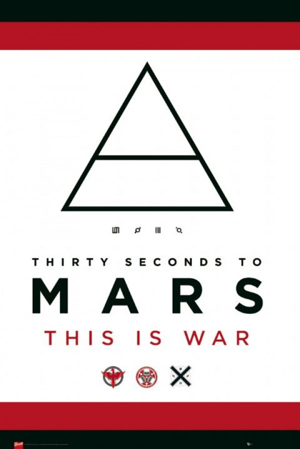 Jared Leto 30 Seconds To Mars 30 Seconds To Mars pos...