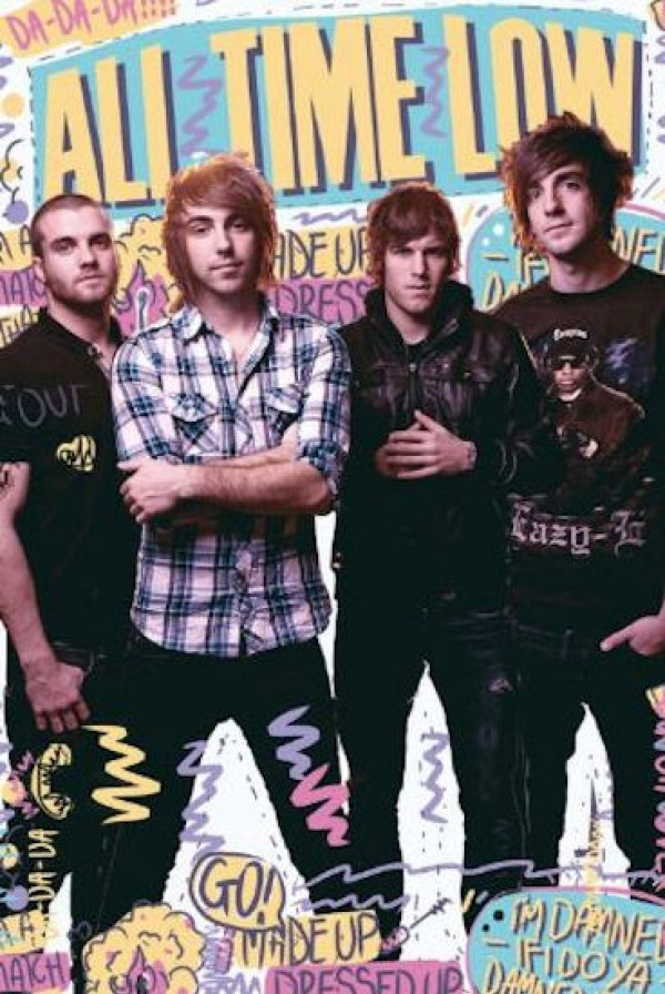 All Time Low Graffiti Poster
