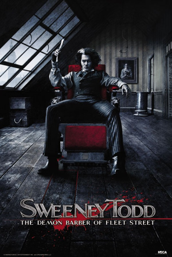 Sweeney Todd Chair Poster